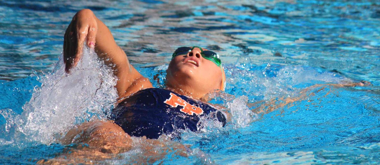Women 39 S Medley Relay And Ling Set Pool Records In Win Over