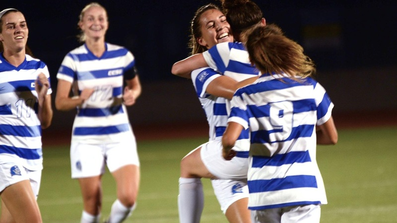 Two Second Half Goals Spark Women's Soccer Past Vermont