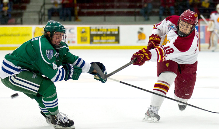 Huff Tabbed As CCHA Postgame Offensive Player Of The Week