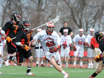CUA bounces back with 15-6 win over Griffins at home