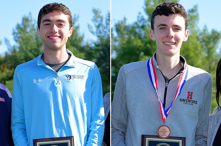 All-CC Men's Cross Country: Pangallozzi, Kredell Garner Major Awards