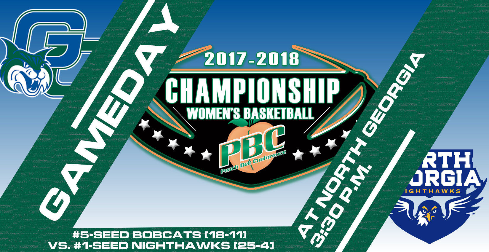 GAMEDAY: GC Women's Basketball Travels to North Georgia for PBC Semifinal