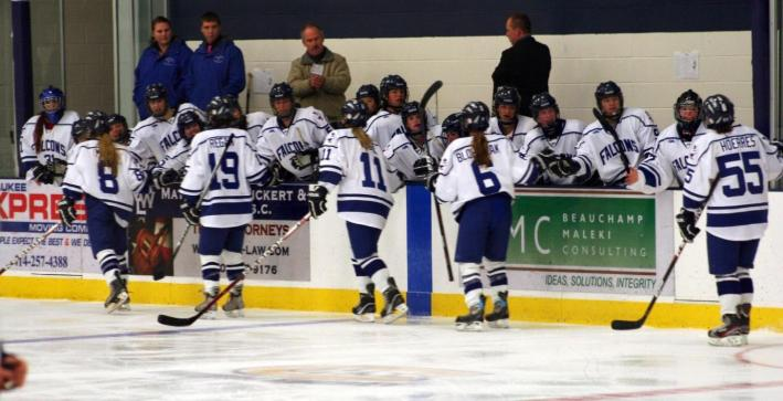 St. Mary's tallies three third period goals to pull away from Women's Hockey