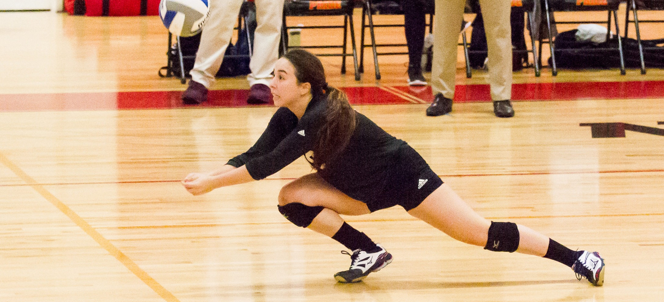 Balanced Attack Leads Women's Volleyball Past Albertus Magnus