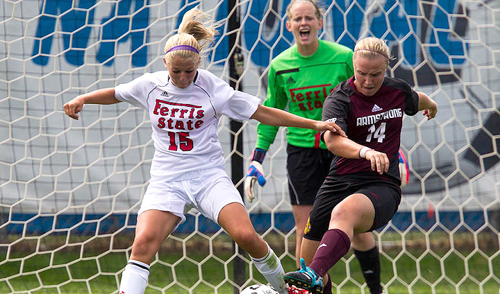 Overtime Goal Lifts Ferris State Past Madonna In Non-League Play