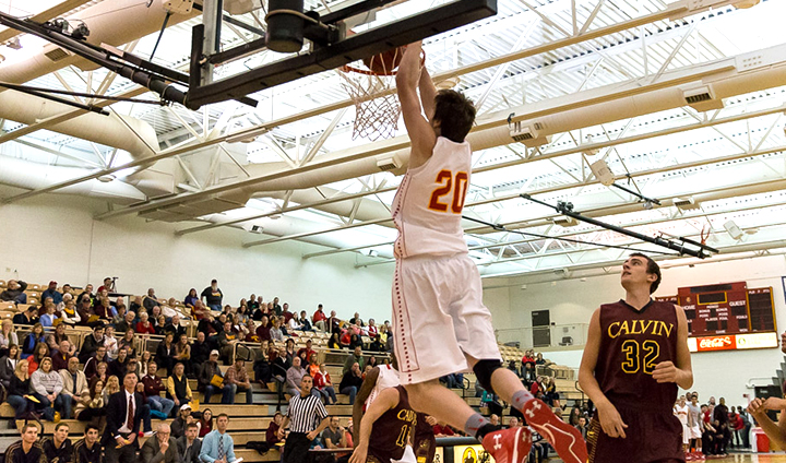 Ferris State Men's Basketball Races Past Longtime Rival Calvin In Decisive Exhibition Victory