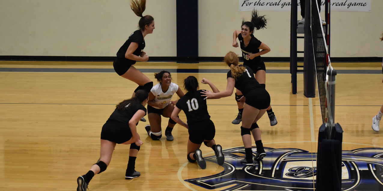 Southwestern Advances to SCAC Volleyball Title Game