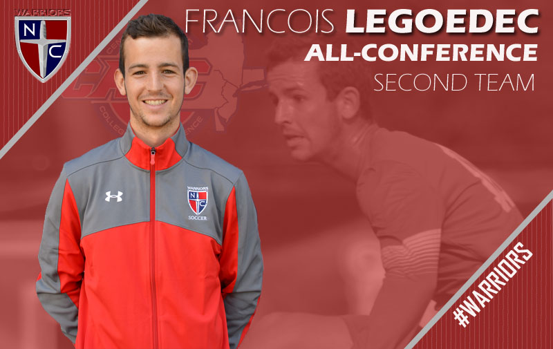 Legoedec Named to CACC All-Conference Second Team