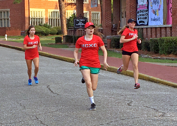 The Huntingdon men's and women's cross country teams are preparing for their first competition since 2012. (Photo contributed)