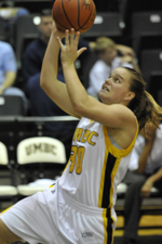 Erin Brown led UMBC with 12 points in the season opener.