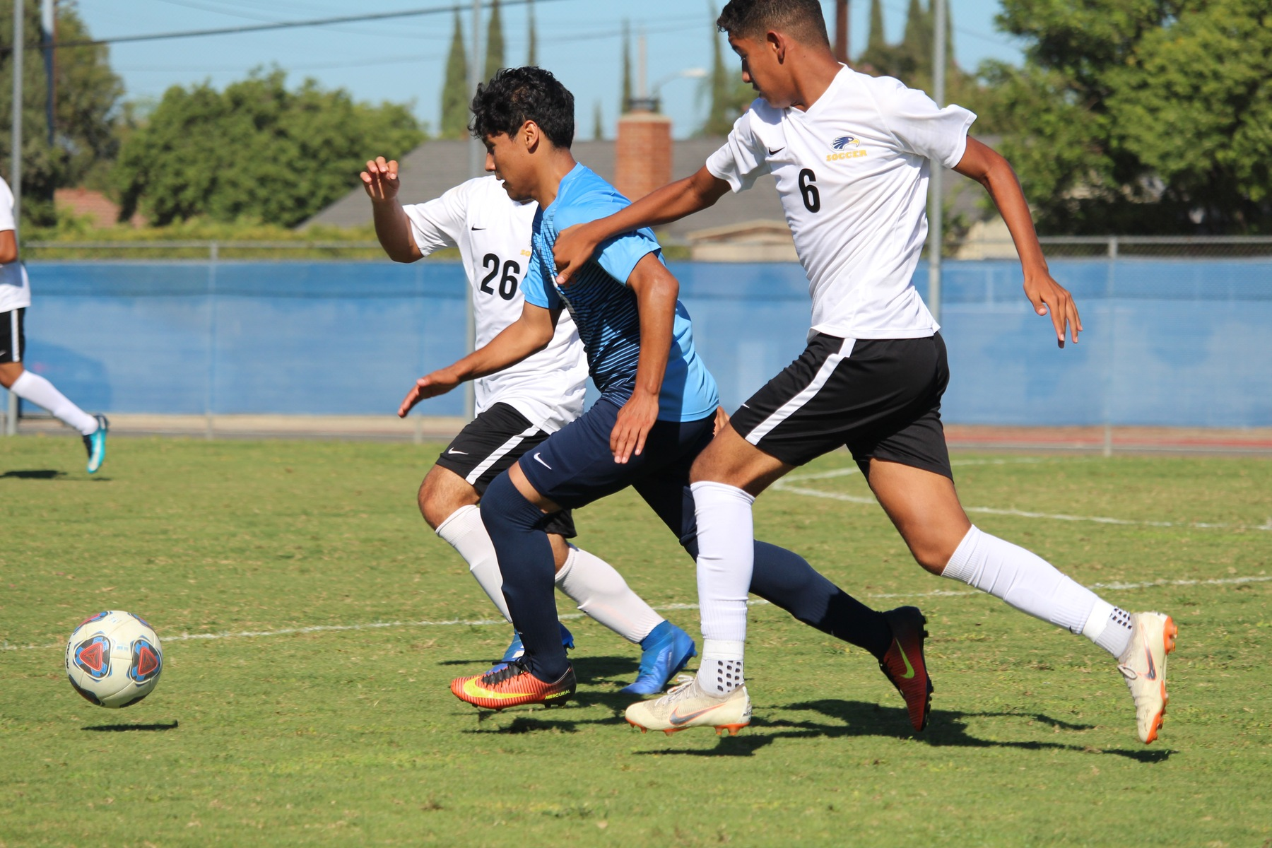 Chargers Come Up Short Against Hawks, 2-1