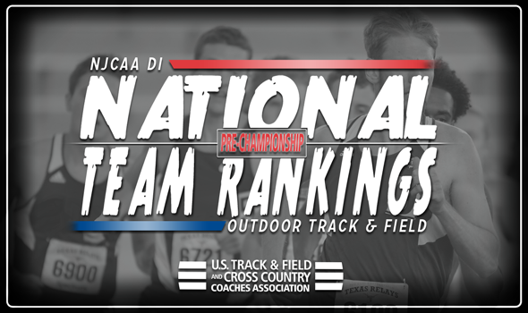 2018 NJCAA DI Outdoor Track & Field National Rankings – Week 7
