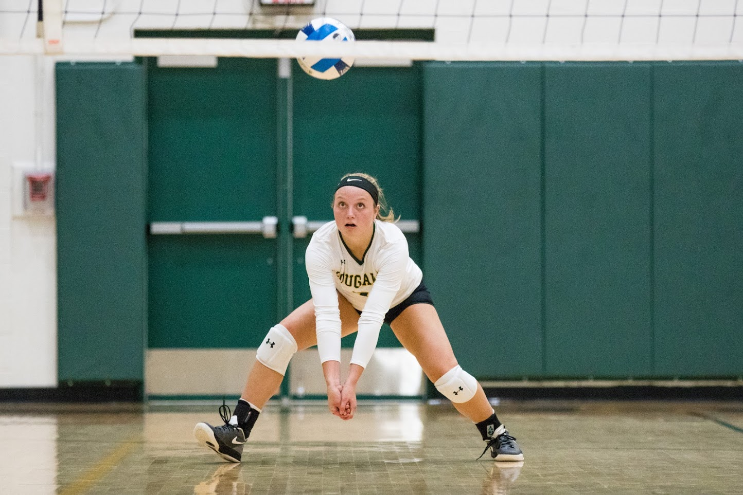 Volleyball sweeps in final regular season match