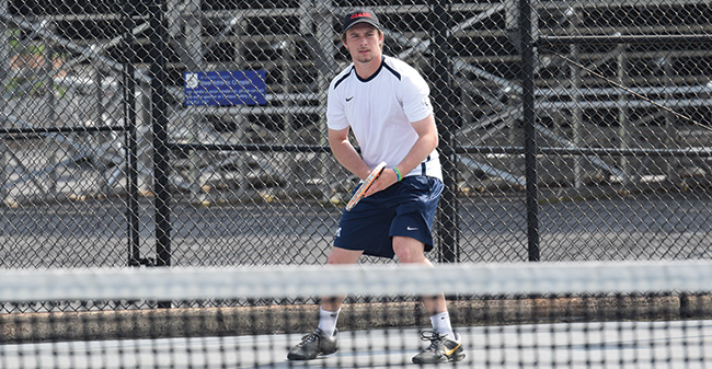 Greyhounds Fall to Scranton in Landmark Conference Action at Hoffman Courts