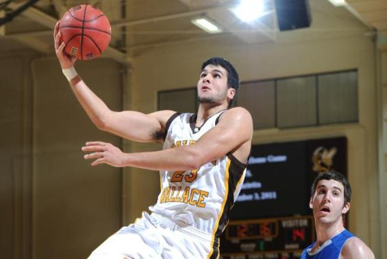 The Men's Basketball Team Defeats Allegheny (Pa.)