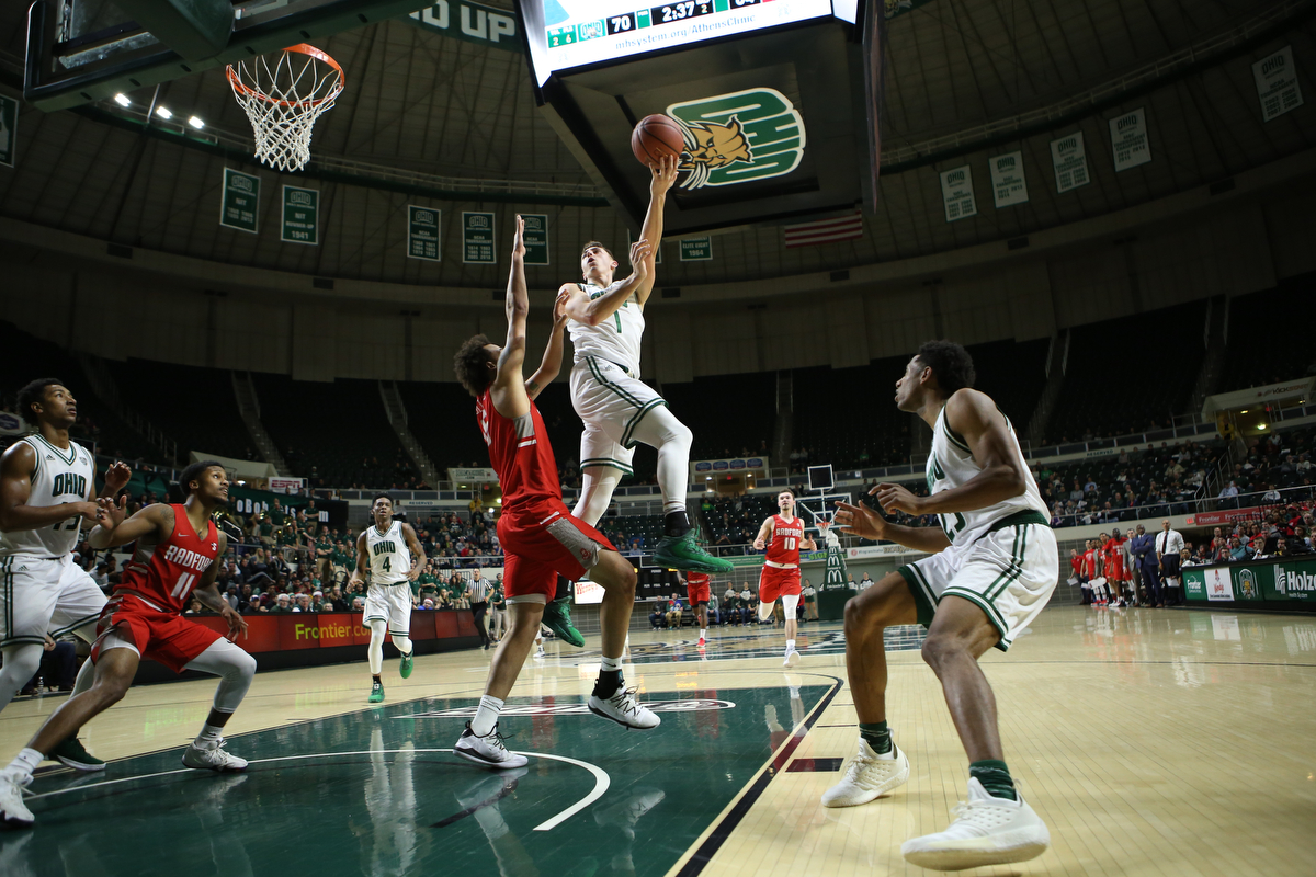 Ohio Men's Basketball Concludes 2018 Against FIU on Sunday