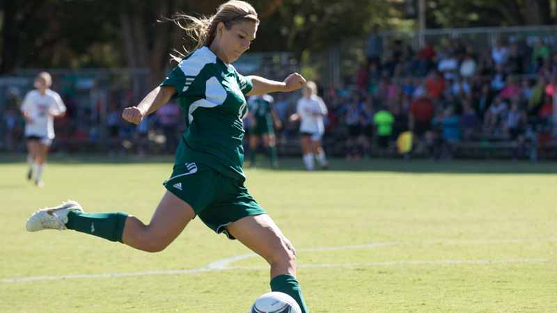 TRENTON HAT TRICK LEADS WOMEN'S SOCCER PAST SOUTHERN UTAH 4-0