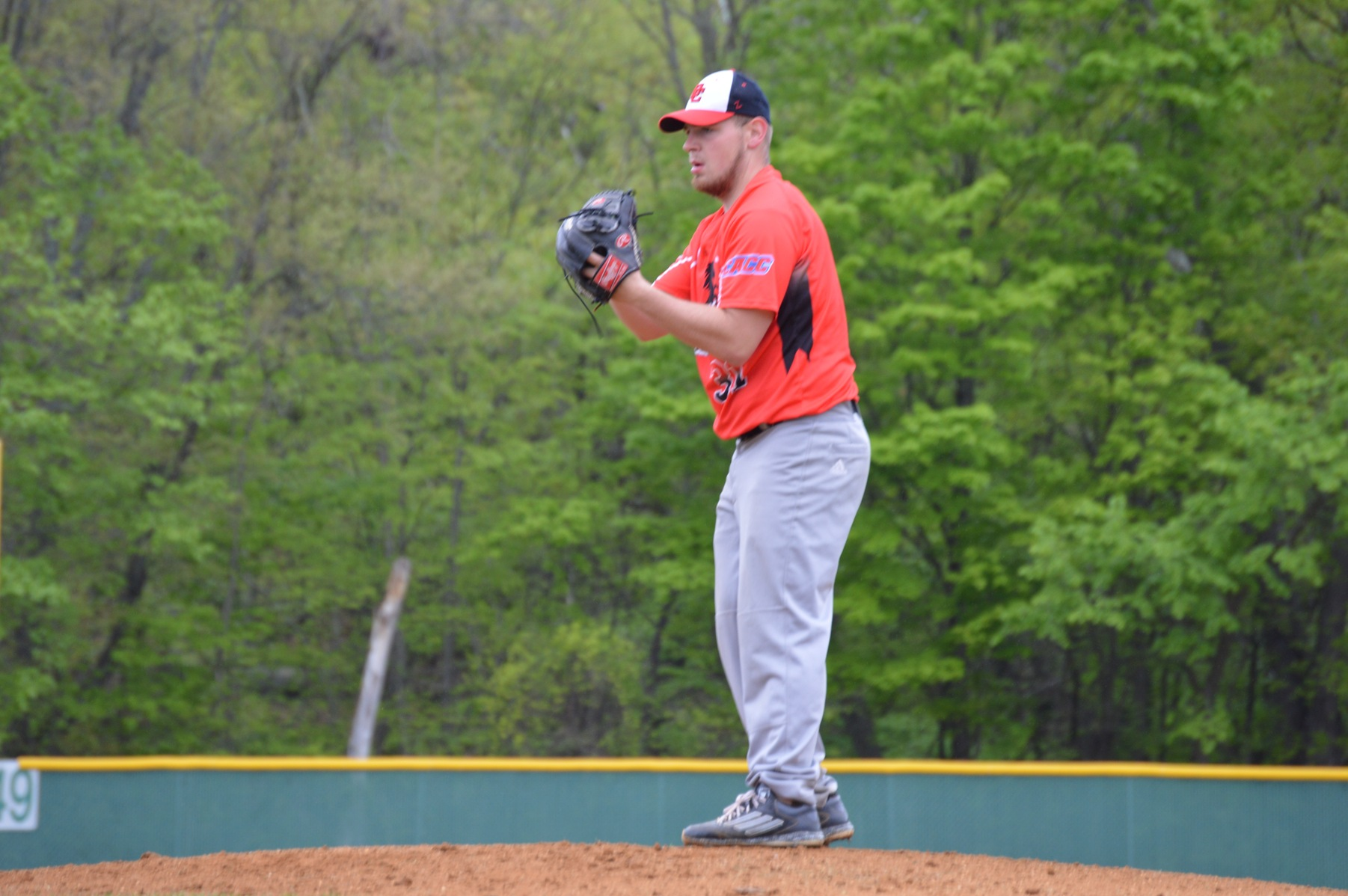 Baseball splits a non-conference double-header with LIU Post.