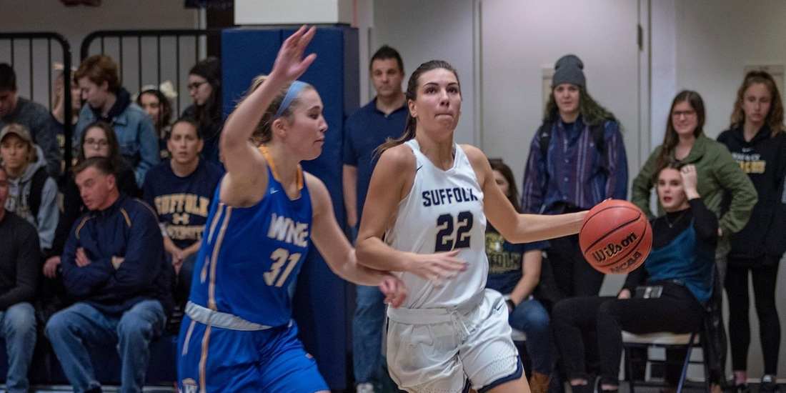 Women's Basketball Keeps Rolling, Downs Regis, 70-56, for Fifth Straight Win