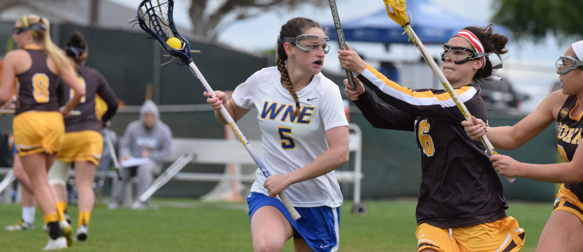 Mount Holyoke Rallies Late to Earn 14-13 Victory Over Western New England