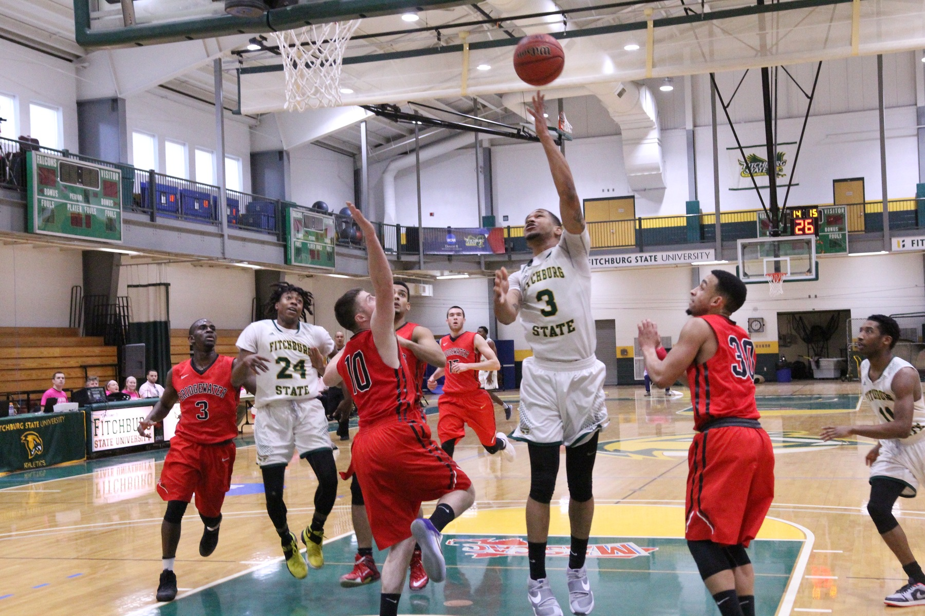 Fitchburg State Roars Past MCLA, 90-65