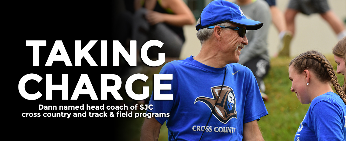 Dann Named Head Coach of SJC Cross Country and Track & Field Programs