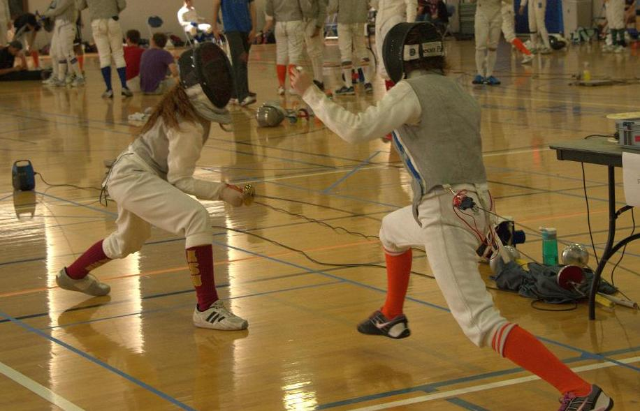 Fisher Takes Gold as Fencing Excels at Individual Collegiate Open