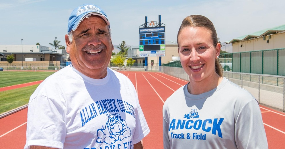 Head Track Coach Louie Quintana Passes Coaching Baton to Kenna Wolter