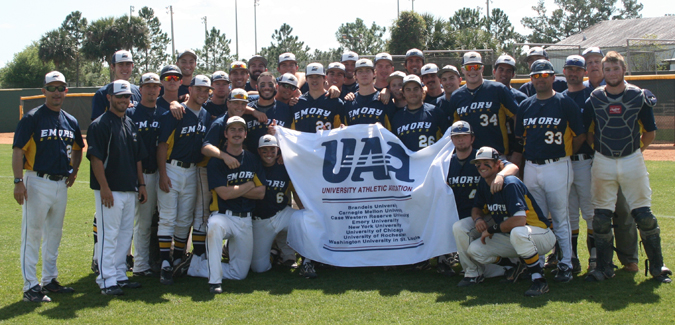 Emory Baseball Selected to NCAA Tournament