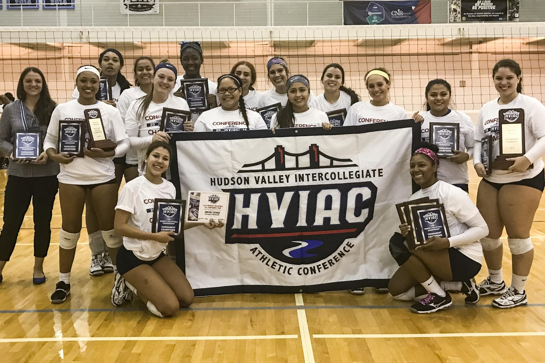 New Rochelle Wins Fourth Straight Women's Volleyball Title