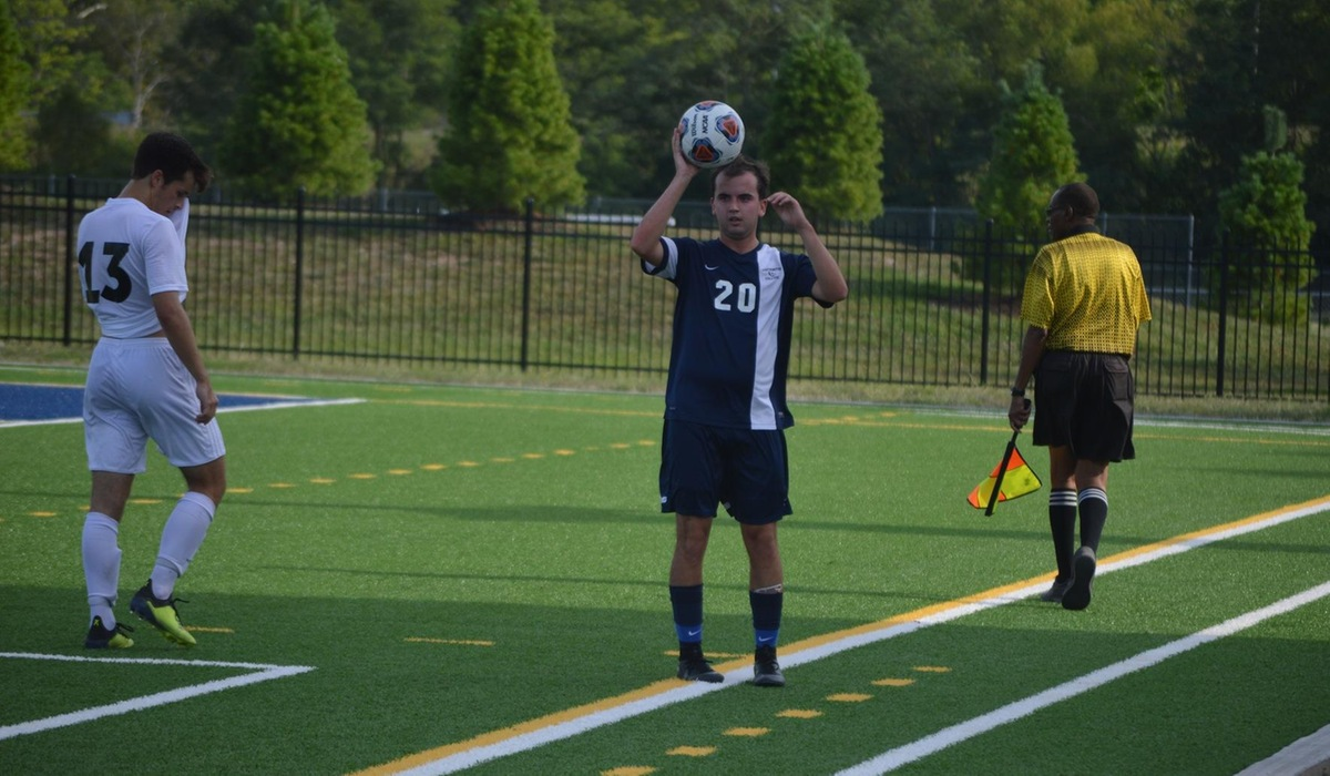Westminster Men's Soccer Falls to Iowa Wesleyan