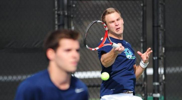 Hass (left) and Schubert (right) ranked No. 5 in regional doubles