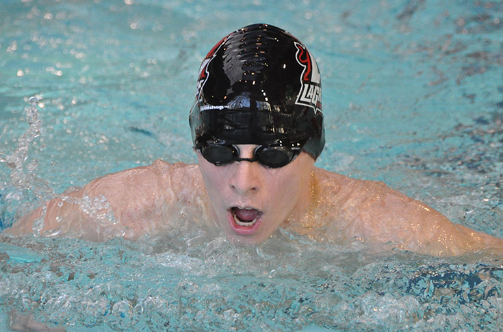 Swimming: Cross, Flowers set new school records at season ending Regional Meet