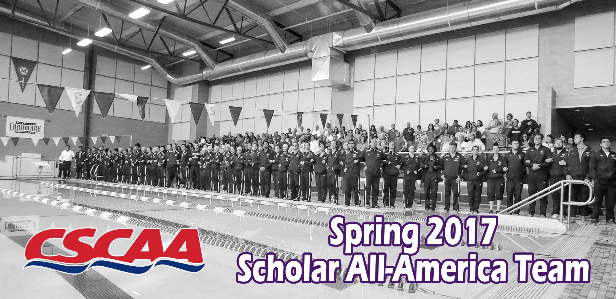Men's and Women's Swimming & Diving Teams Nab Scholar All-America Honors from CSCAA