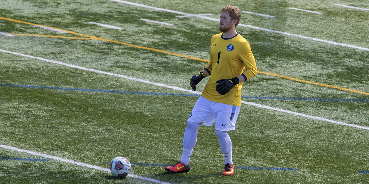 Men's Soccer blanks Rosemont, 2-0; Extends win streak to six games