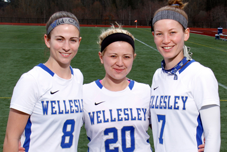 Blue Lacrosse Edges Emerson on Senior Day