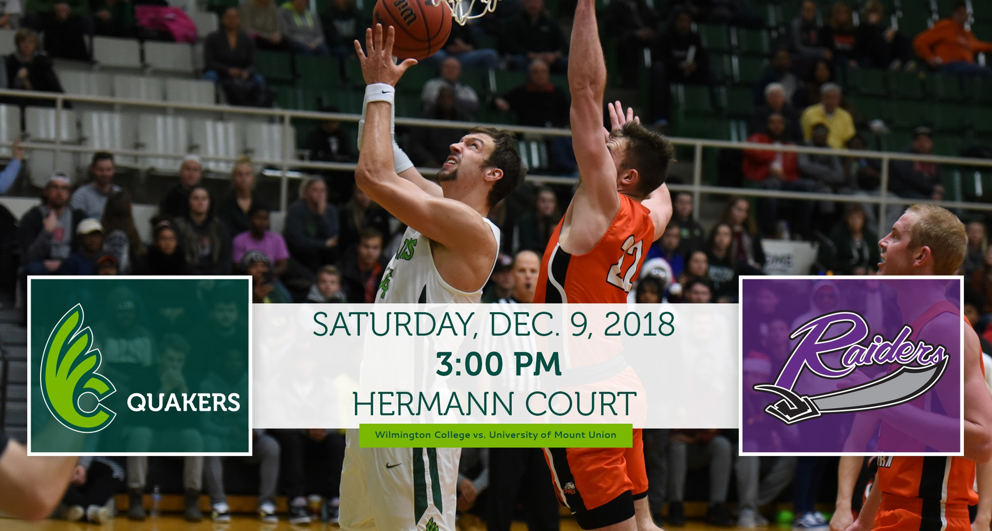 Men's Basketball Hosts Mount Union in Battle of OAC Unbeatens Saturday