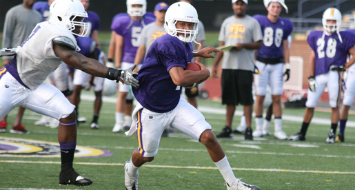 OVC champion Golden Eagle football team begins spring practices