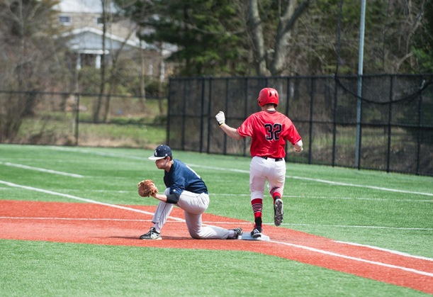 Baseball Closes Out Conference Schedule with Losses to Mounties