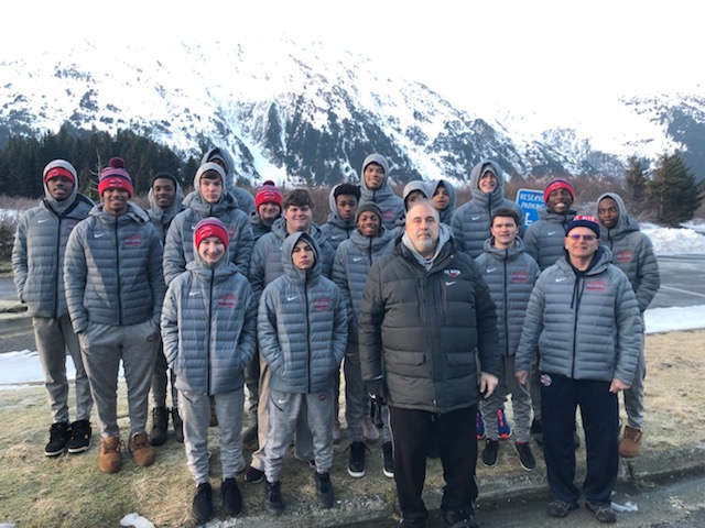 Long Road Home Can't Dampen Varsity Basketball Trip to Alaska