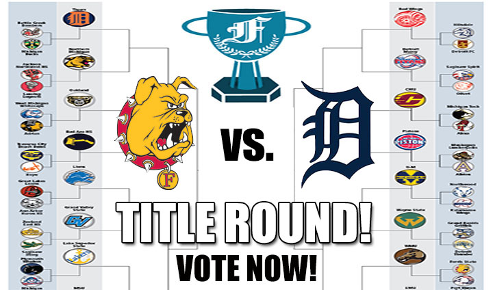 TITLE ROUND!  Ferris State vs. Detroit Tigers - VOTE NOW!