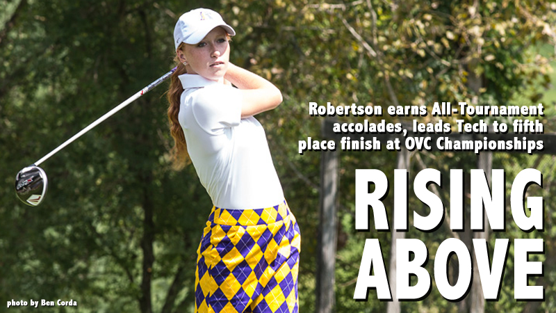 Robertson earns All-Tournament honors as Tech finishes fifth at OVC Championships