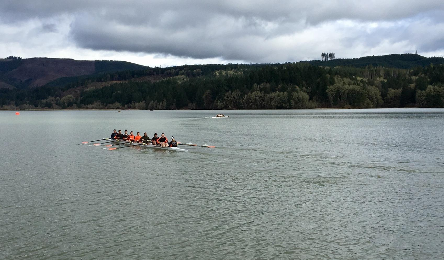 Pioneers compete in first regatta of the spring