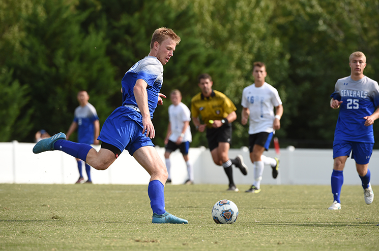 W&L Men's Soccer Advances to NCAA Second-Round With 2-0 Win Over Mary Washington