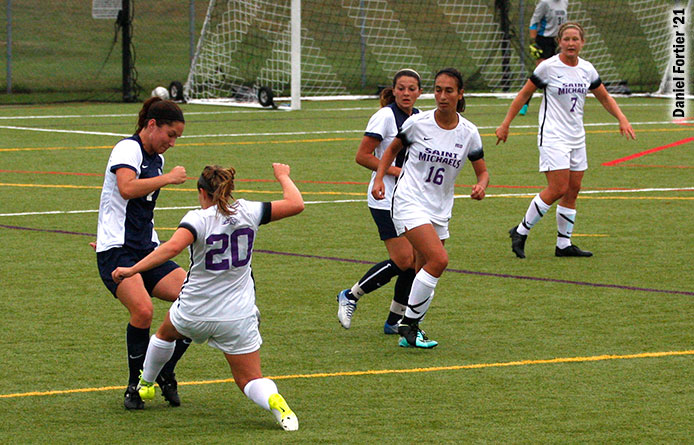 Women's Soccer Drops Conference Opener to Southern Connecticut State, 2-1