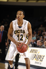 UCSB's Harris Selected to Collegehoops.net Mid-Major Pre-season All-America Team