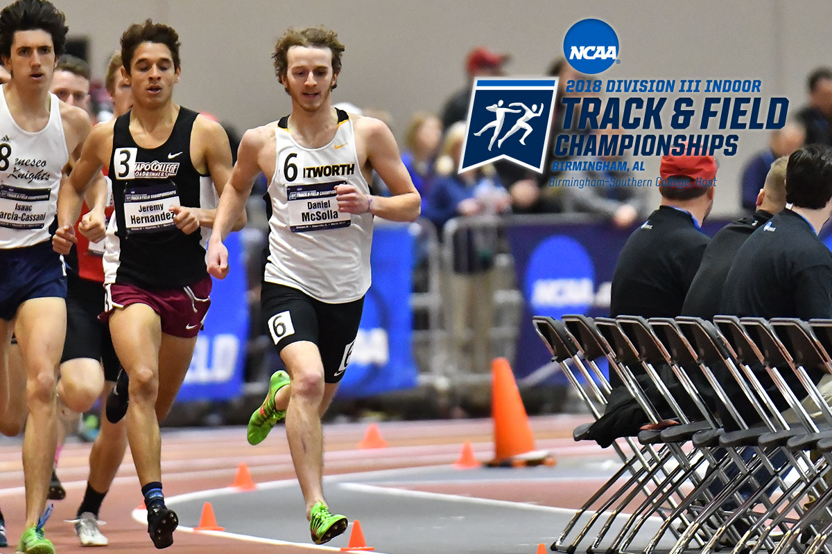 McSolla Selected for Second Straight NCAA Indoor Track Championship