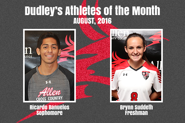 Dudley's August Athletes of the Month