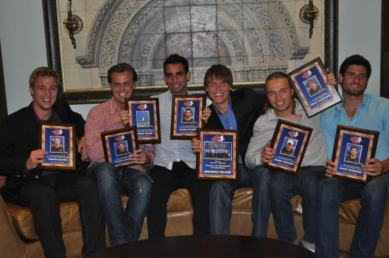 CACC Announces 2012-2013 Men's Tennis All-Conference