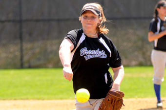 Softball sweeps Wellesley, 4-2 and 4-0, in New England opener